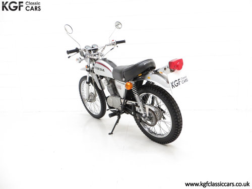 1975 A Fabulous UK Honda SL125 Street Scrambler SOLD (picture 4 of 6)