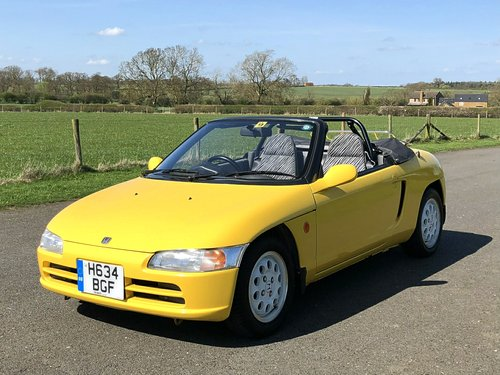 1991 Honda Beat Convertible 660cc SOLD (picture 1 of 6)