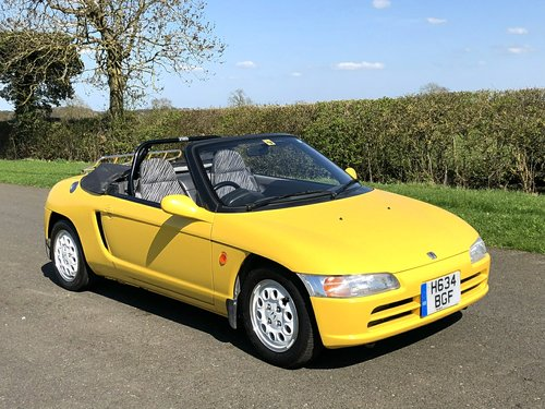 1991 Honda Beat Convertible 660cc SOLD (picture 3 of 6)