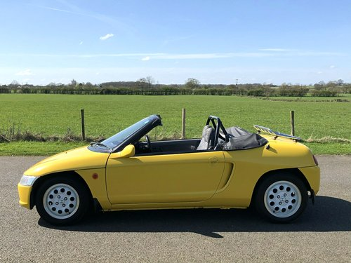 1991 Honda Beat Convertible 660cc SOLD (picture 4 of 6)