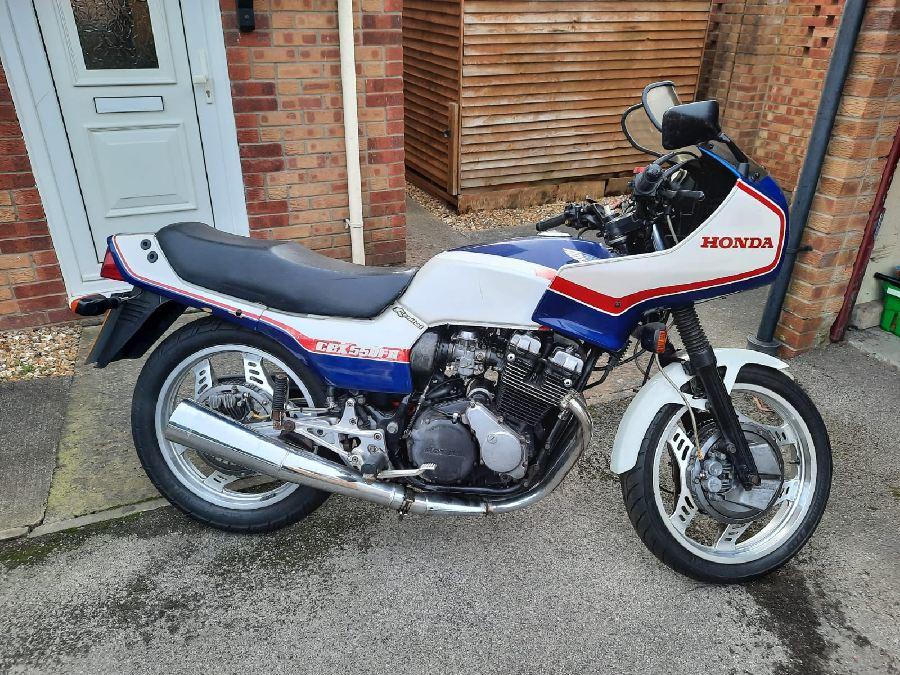 Honda CBX550 F2