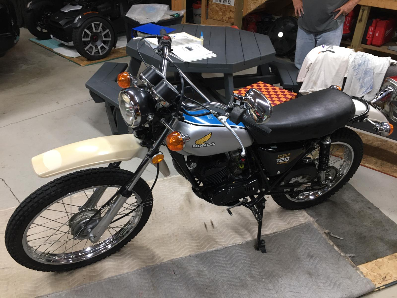 Original outstanding classic Motorcycle / Rare