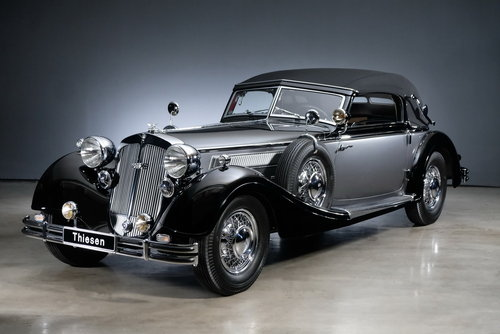 1937 Horch 853 Sportcabriolet For Sale (picture 3 of 6)