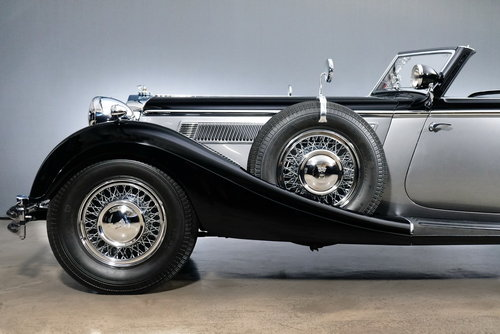 1937 Horch 853 Sportcabriolet For Sale (picture 4 of 6)