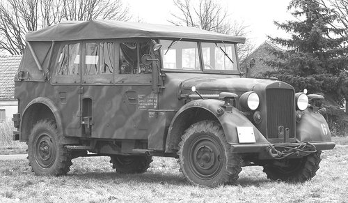 1943 Horch Typ 40, Horch, Typ 40, ww2 , Horch For Sale (picture 6 of 6)