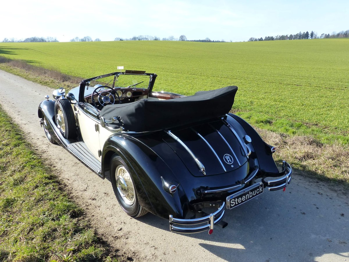 1937 Convertible with maximum smartness For Sale (picture 3 of 6)