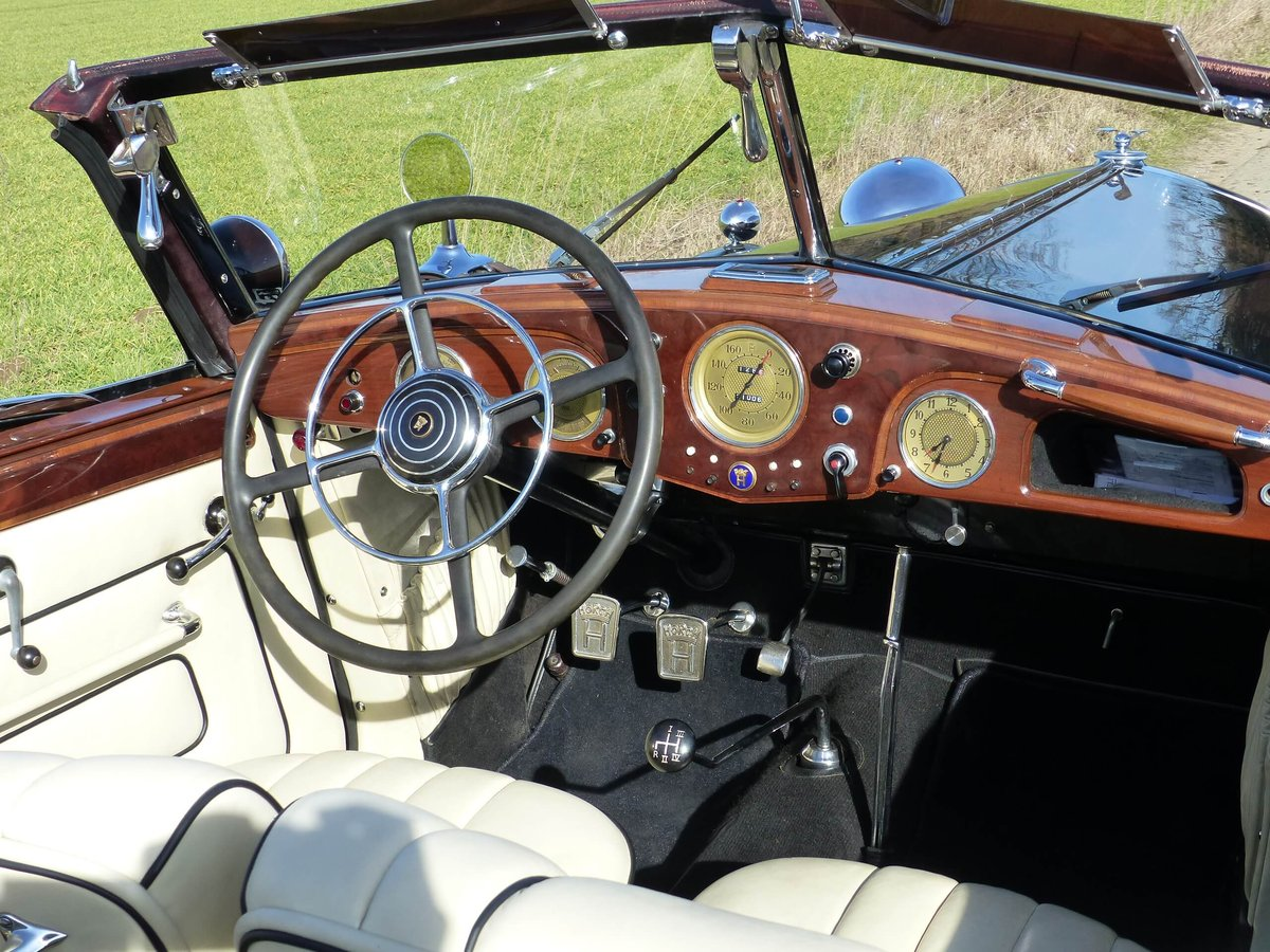 1937 Convertible with maximum smartness For Sale (picture 4 of 6)