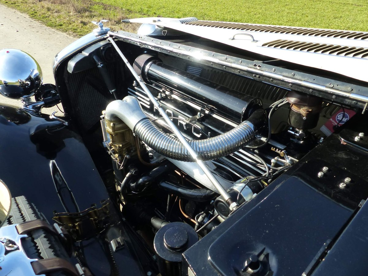 1937 Convertible with maximum smartness For Sale (picture 5 of 6)