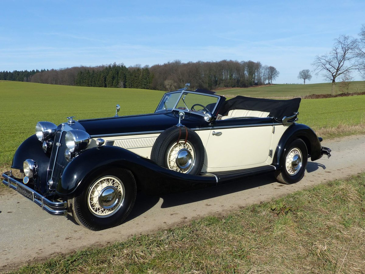 1937 Convertible with maximum smartness For Sale (picture 6 of 6)