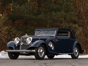 1934 Horch 780 B Sportcabriolet by Glser
