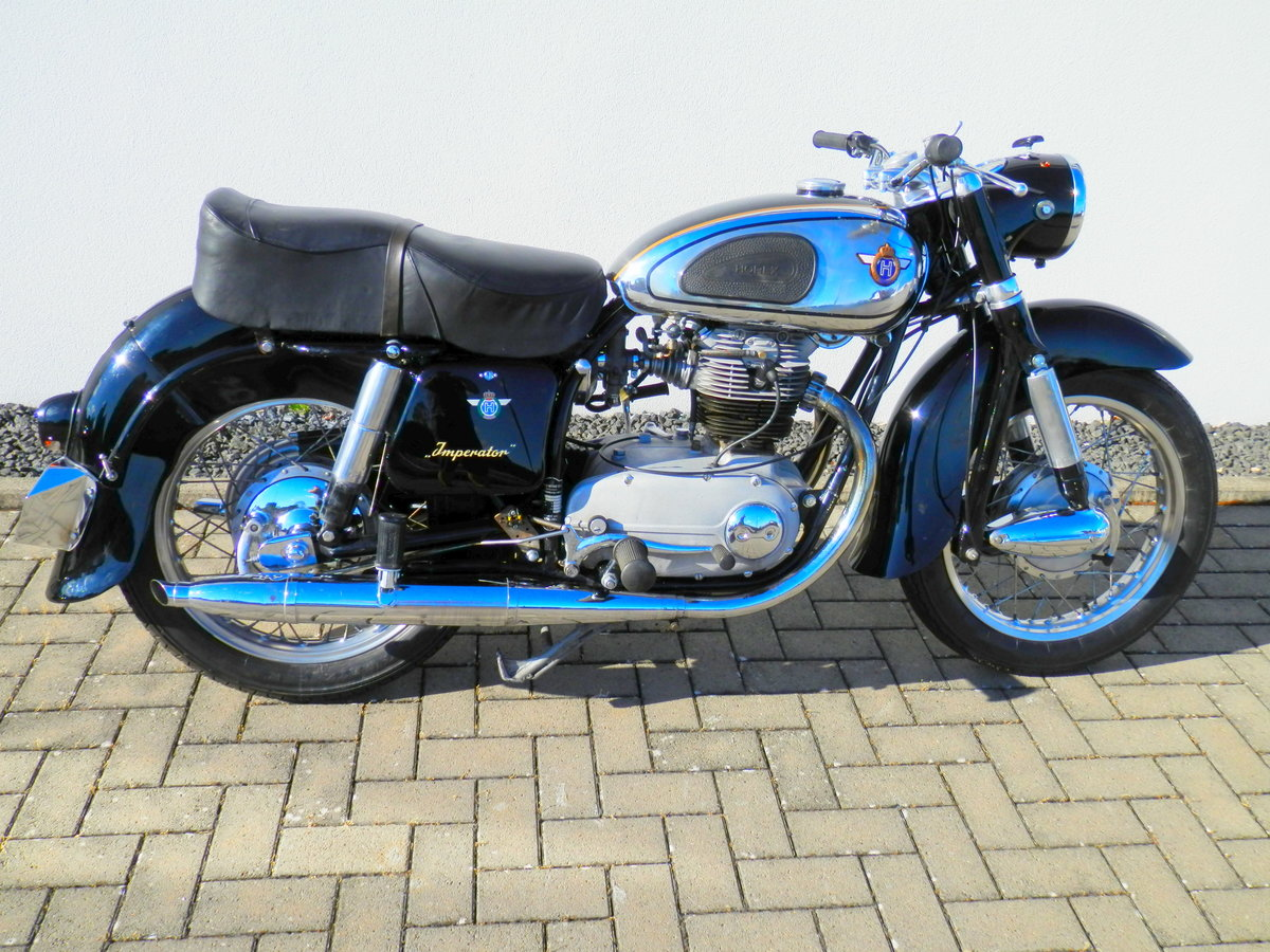 1955 Horex Imperator 400 best of german engineering For Sale (picture 1 of 6)