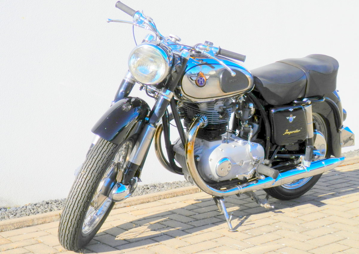 1955 Horex Imperator 400 best of german engineering For Sale (picture 2 of 6)