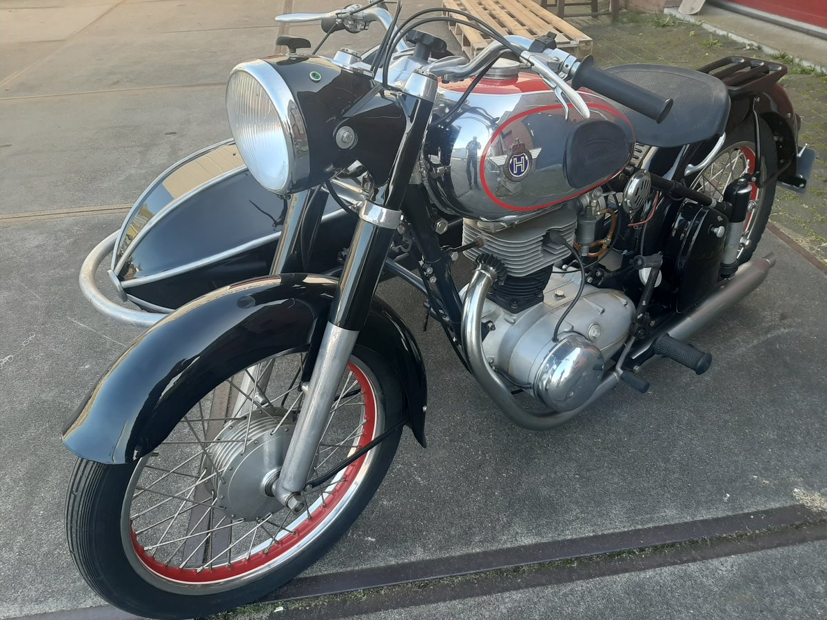 1957 Horex regina 250 sidecar combination For Sale (picture 1 of 6)