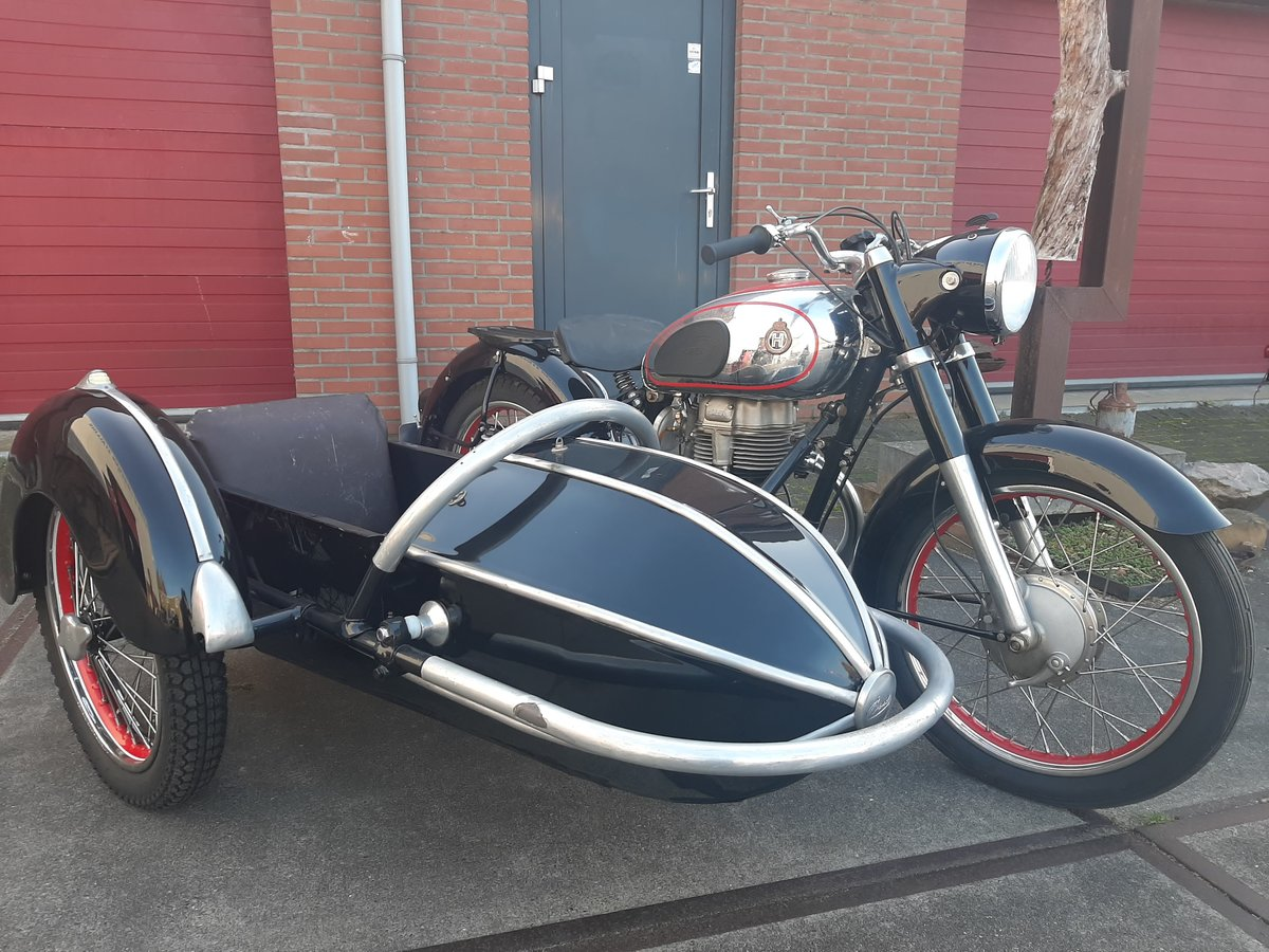 1957 Horex regina 250 sidecar combination For Sale (picture 3 of 6)