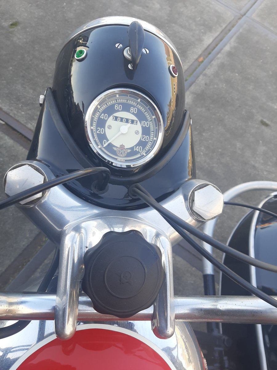 1957 Horex regina 250 sidecar combination For Sale (picture 4 of 6)