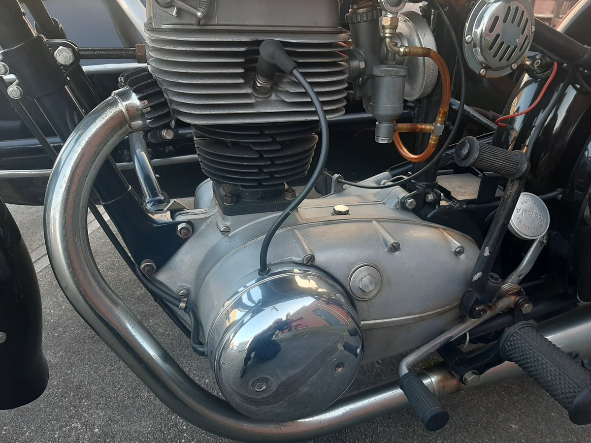 1957 Horex regina 250 sidecar combination For Sale (picture 5 of 6)