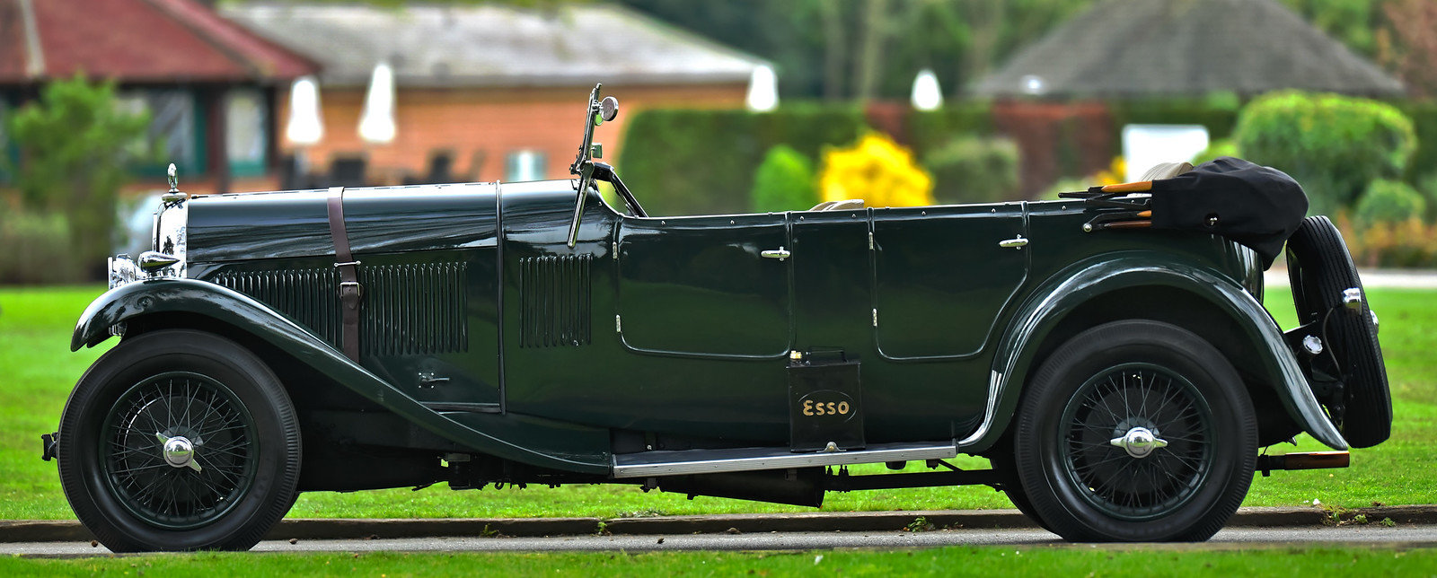 1931 Hotchkiss AM80 Grand Tourer by Gurney Nutting For Sale (picture 2 of 6)