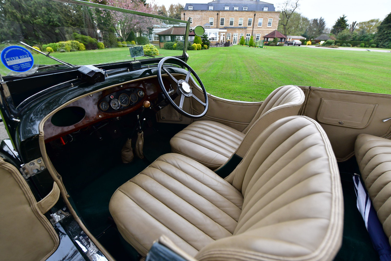 1931 Hotchkiss AM80 Grand Tourer by Gurney Nutting For Sale (picture 4 of 6)