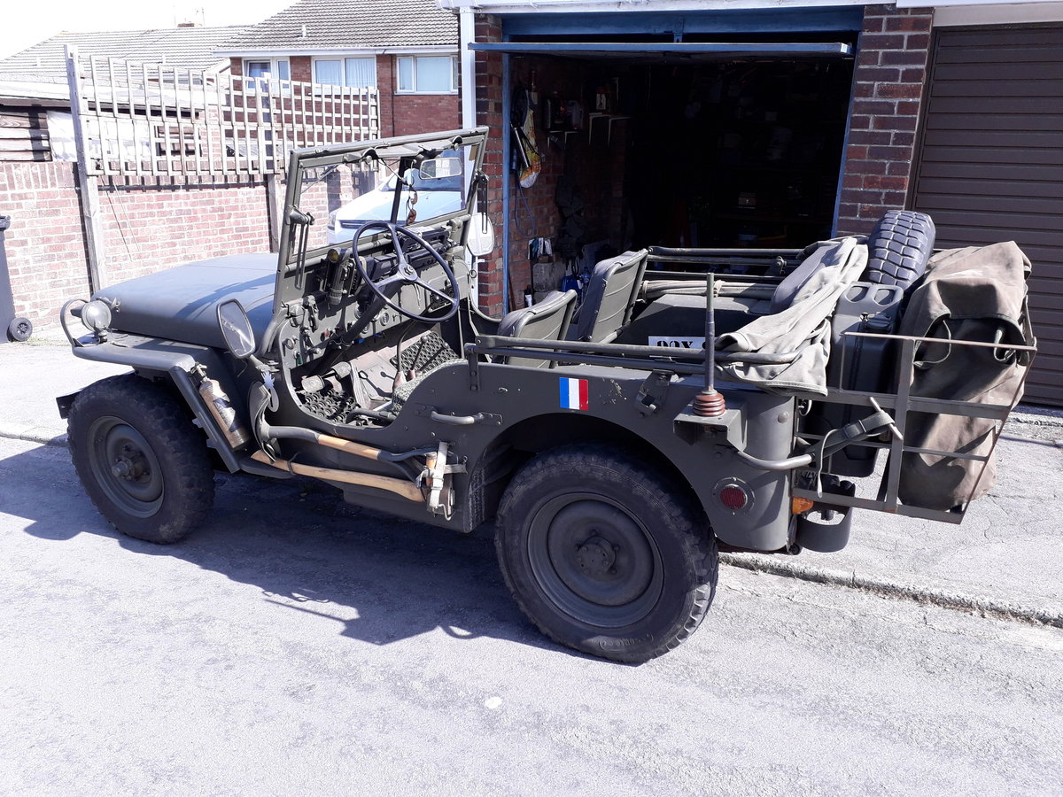1962 willys hotchkiss jeep For Sale (picture 1 of 6)