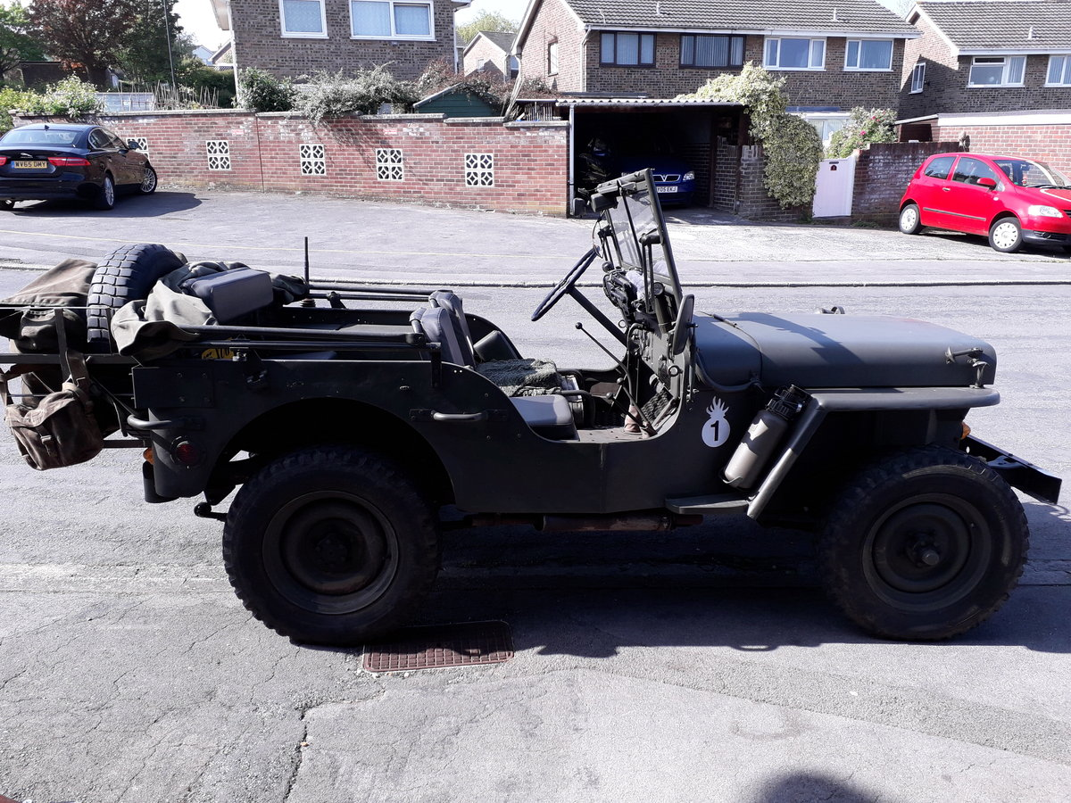 1962 willys hotchkiss jeep For Sale (picture 4 of 6)