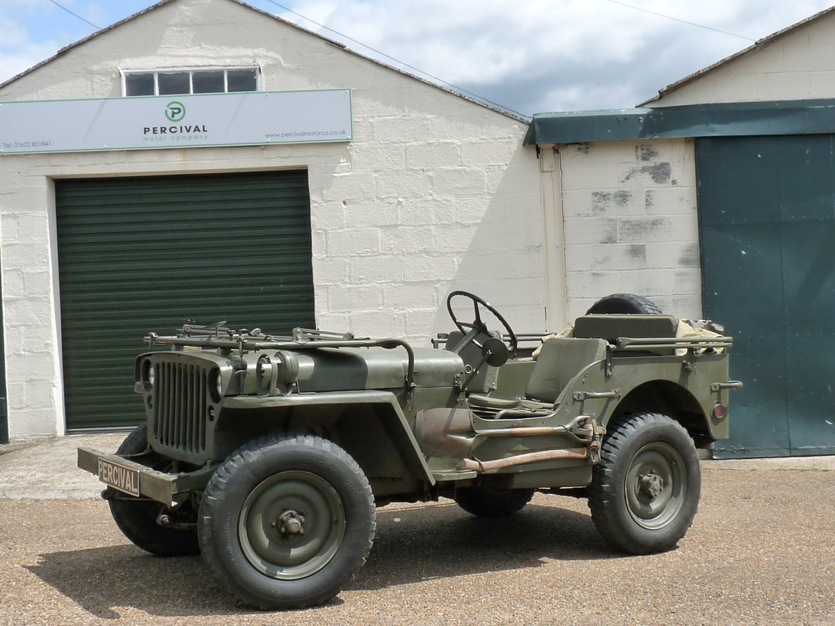 1956 Hotchkiss M201 Jeep, SOLD SOLD (picture 1 of 6)