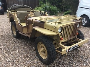 1960 Hotchkiss M201 Willy's Overland France For Sale