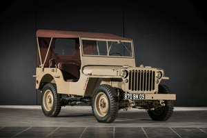 1957 Hotchkiss Jeep Willys M201 - No reserve