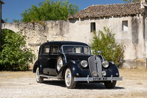 1939 Hotchkiss 686 Limousine Chantilly No reserve For Sale by Auction