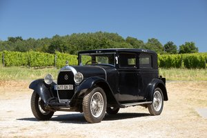 1930 Hotchkiss AM 2 Berline No reserve For Sale by Auction