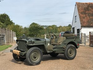 Hotchkiss M201 Jeep, Ex-Ron Cobb, outstanding