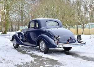 1935 Hudson Deluxe Eight Rumble Seat Coupé SOLD by Auction