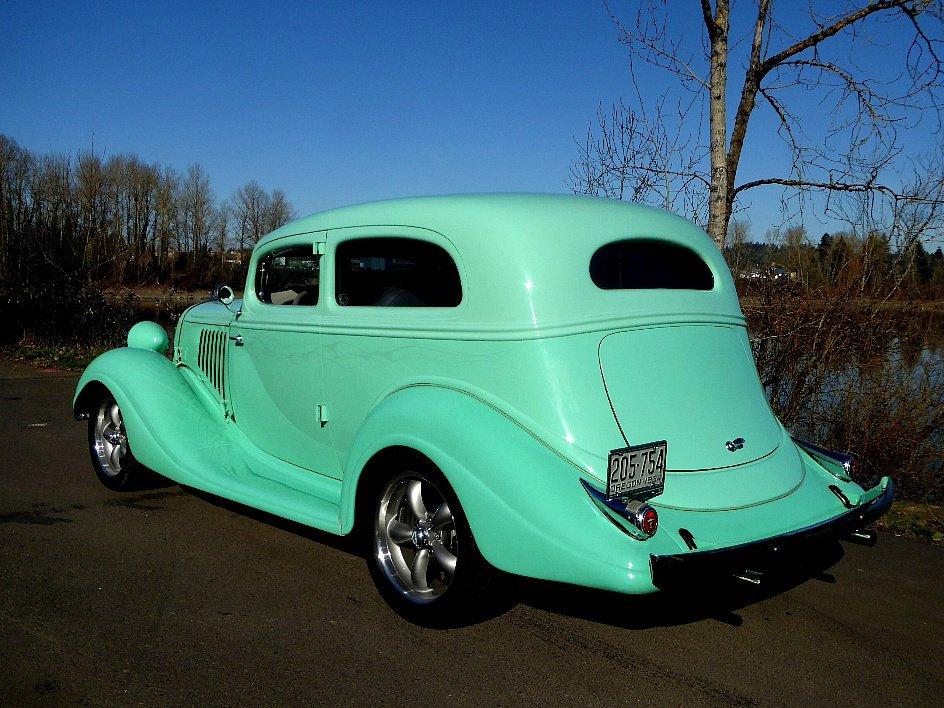 1934 Husson Terraplane Victoria = Steel body Restored $44.5k For Sale (picture 2 of 6)