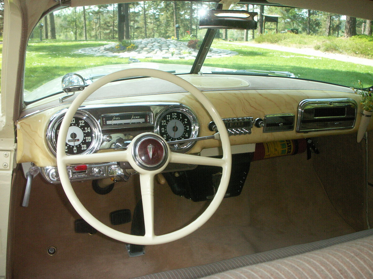 1951 Hudson Pacemaker Brougham (2 DR Sedan) For Sale (picture 5 of 6)