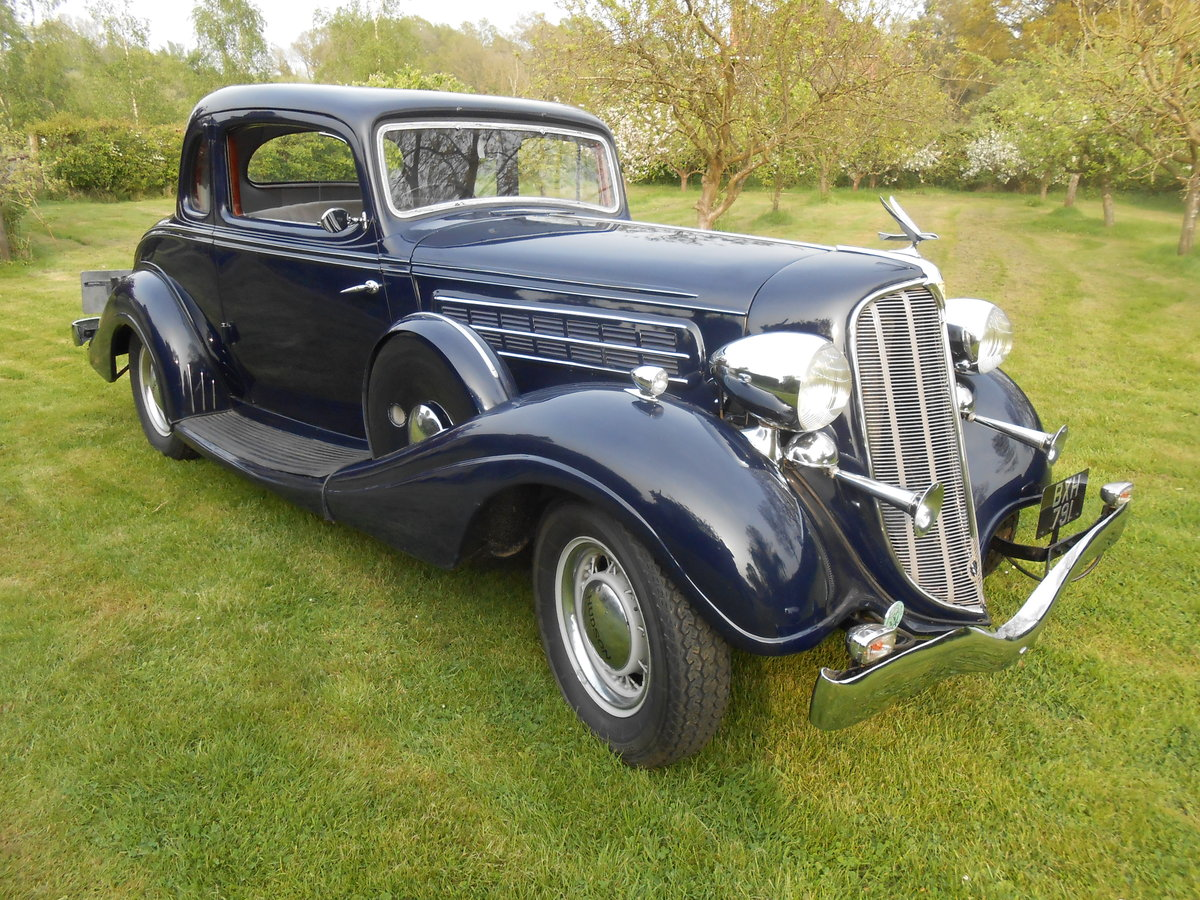 1935 Fabulous straight 8 RHD Coupe For Sale (picture 1 of 6)