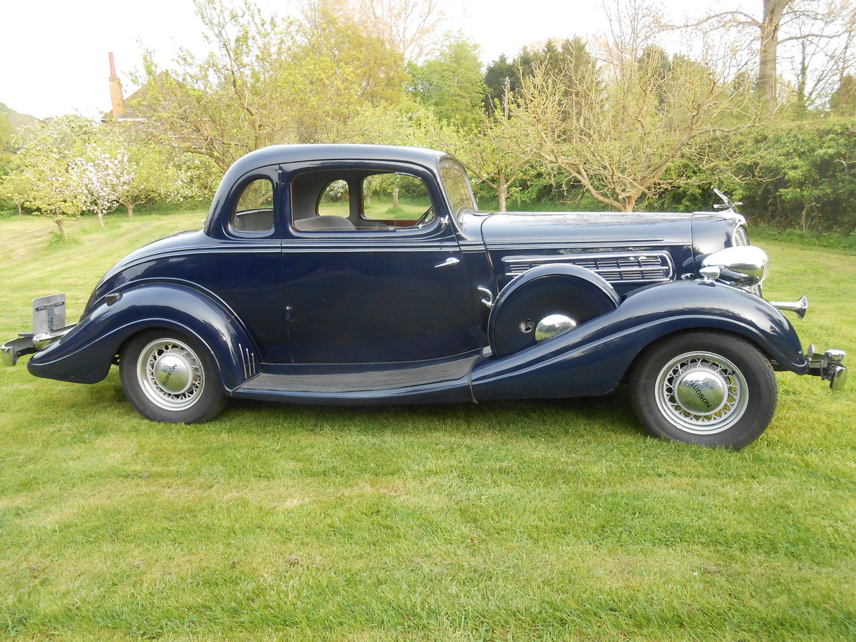 1935 Fabulous straight 8 RHD Coupe For Sale (picture 2 of 6)