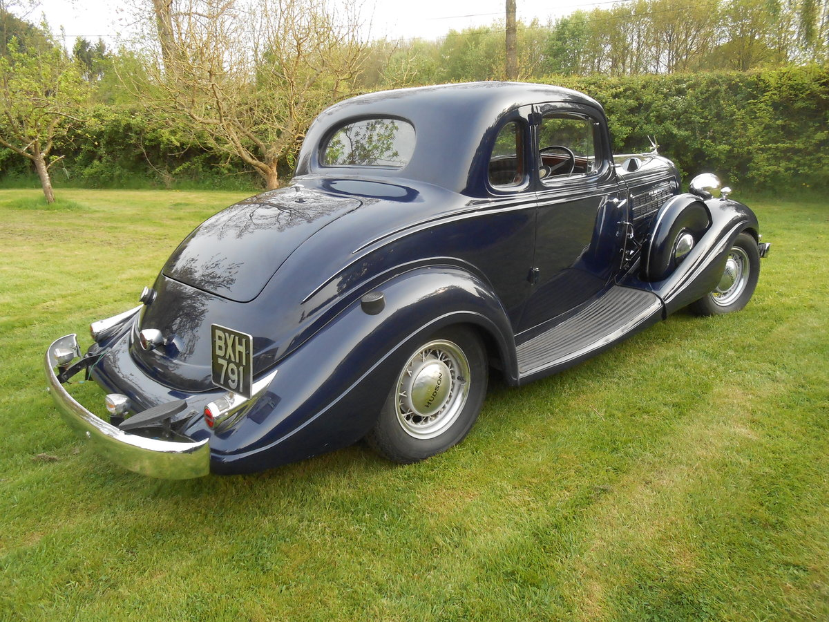 1935 Fabulous straight 8 RHD Coupe For Sale (picture 3 of 6)