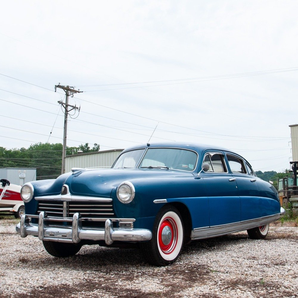 1949 Hudson Super 6 = clean Blue(~)Grey driver  $obo For Sale (picture 1 of 6)