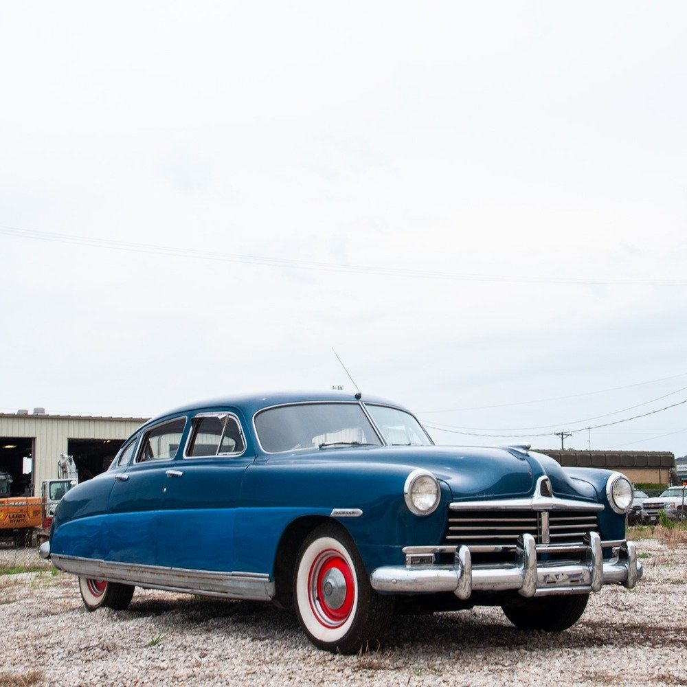 1949 Hudson Super 6 = clean Blue(~)Grey driver  $obo For Sale (picture 2 of 6)