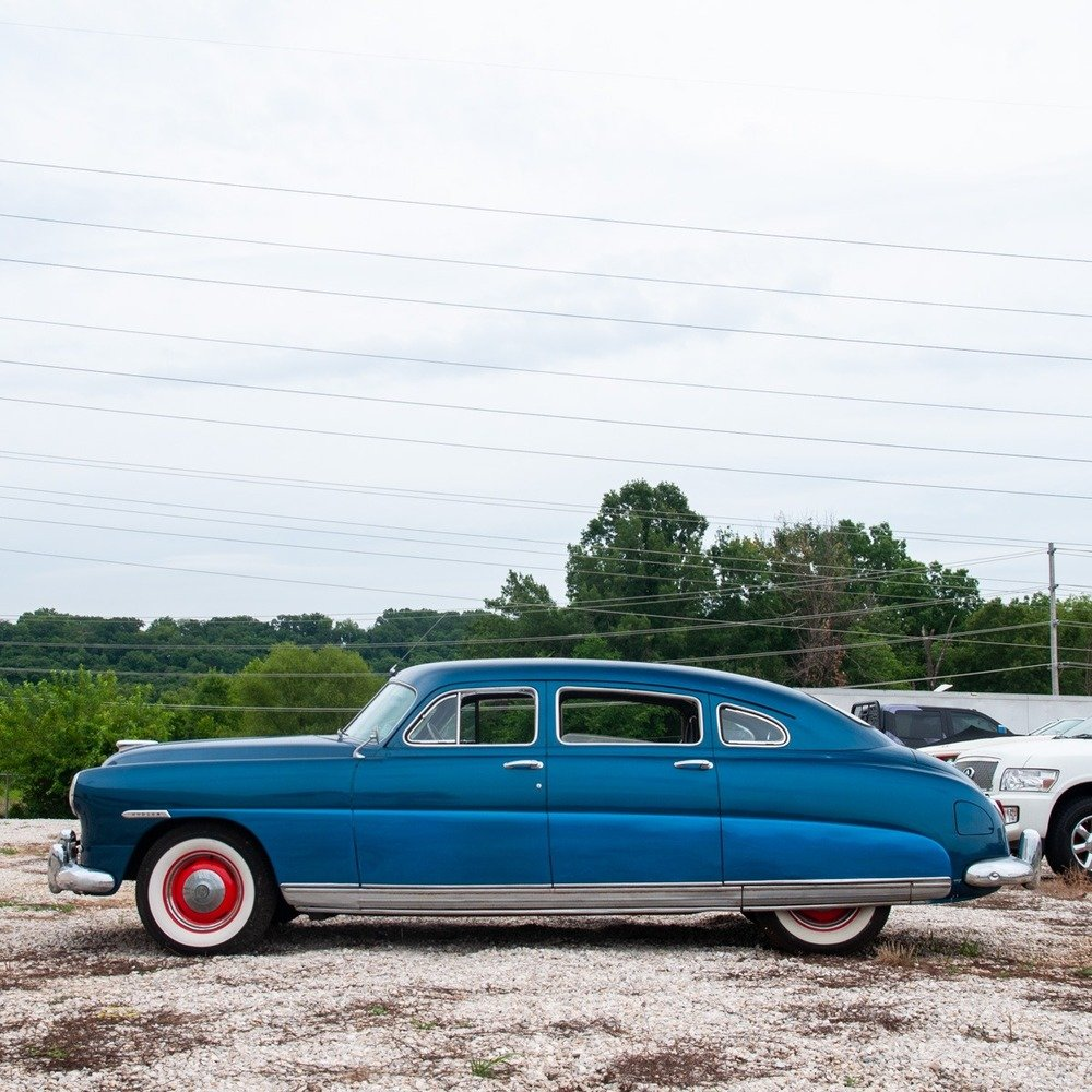 1949 Hudson Super 6 = clean Blue(~)Grey driver  $obo For Sale (picture 6 of 6)