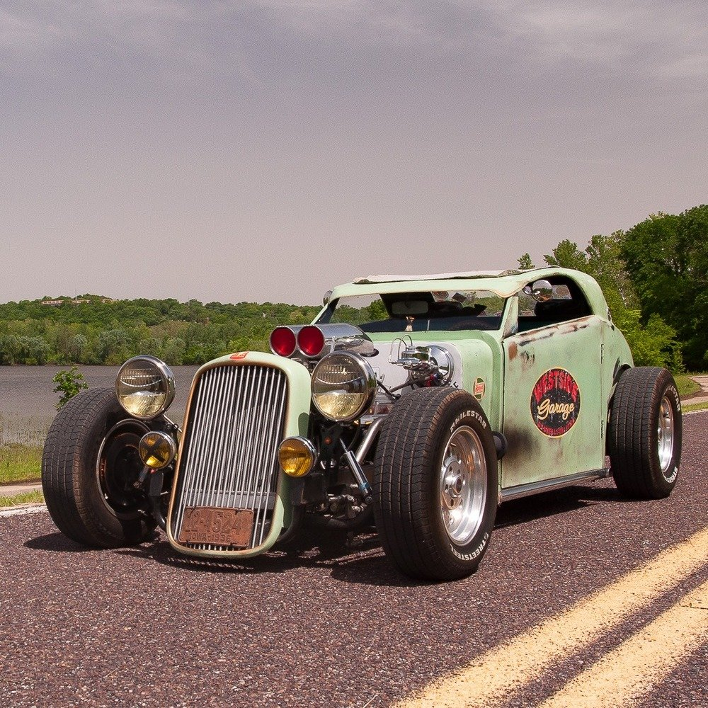 1936 Hudson Terraplane = Fun Custom 1 off Rat(~)Rod $21.9k For Sale (picture 6 of 6)