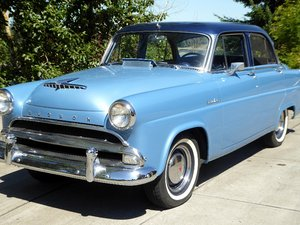 1953  Hudson Super Jet = Clean All Blue driver  $12.5k