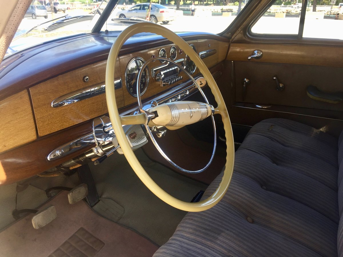 1949 Hudson Commodore Straight 8 Serie 494  For Sale (picture 3 of 6)