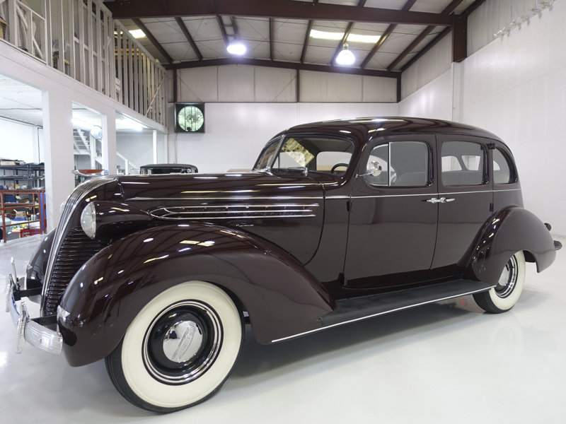 1937 Hudson Custom Six Touring Sedan For Sale (picture 1 of 6)