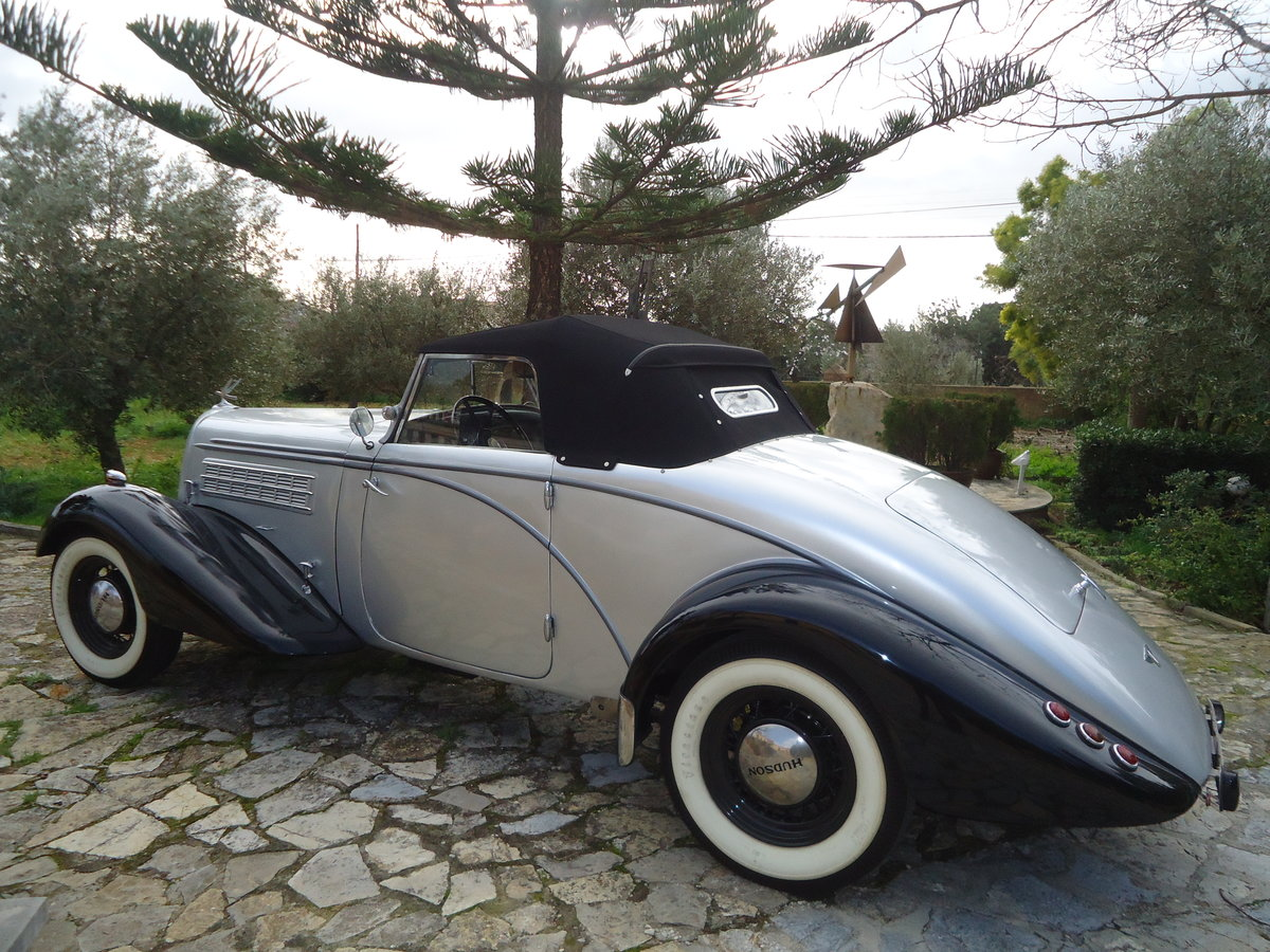 1934 hudson protothype montecarlo racing car For Sale (picture 1 of 6)