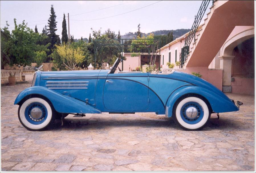 1934 hudson protothype montecarlo racing car For Sale (picture 6 of 6)