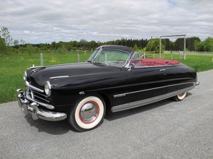 1950 Hudson Commodore 8 Convertible  For Sale by Auction