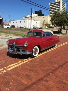 1949 Hudson Commader Convertible For Sale