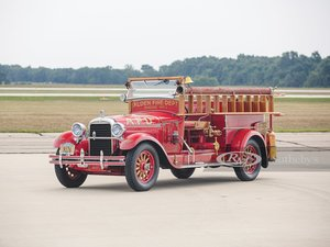 1927 Hudson Model O Super Six Fire Truck