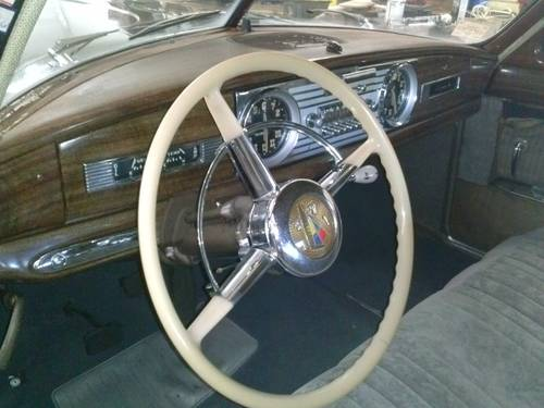 1950 Hudson Super 6 4-DR Sedan For Sale (picture 5 of 6)