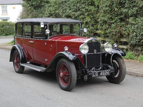 1930 Humber 16/50 Saloon SOLD (picture 1 of 6)